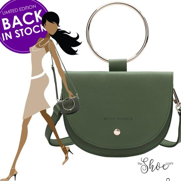 Melie Bianco Handbags - Felix Ring Crossbody - Luxury Vegan Leather